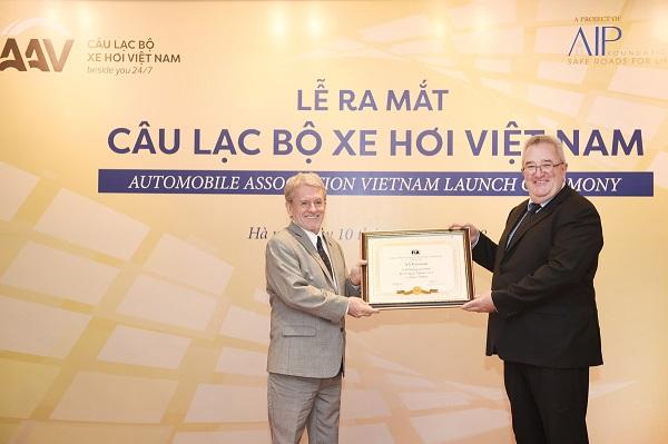 В Ханое состоялось официальное открытие Автомобильной Ассоциации Вьетнама (AAV)