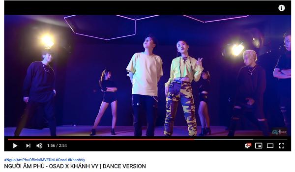 Khánh Vy và Osad tự tin khoe vũ đạo đậm chất KPop trong phiên bản Dance Người Âm Phủ