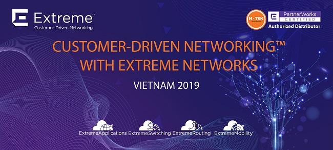 Hội thảo các giải pháp Extreme Networks