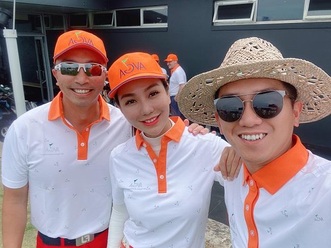 Á hoàng Golf Queen Hải Anh khoe nhan sắc yêu kiều tại Sydney