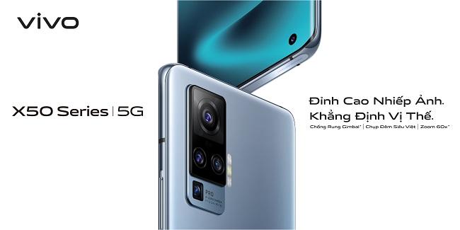 """Vivo xác nhận sẽ ra mắt bộ đôi flagship cao cấp X50 và X50 Pro – """"Đỉnh Cao Nhiếp Ảnh, Khẳng Định Vị Thế"""""""